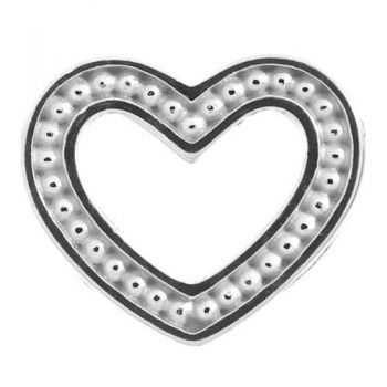 Endless Jewelry Charm Heart Dots Silver 41253