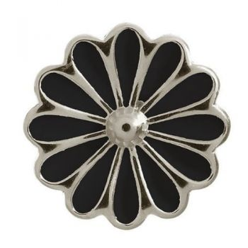 Endless Jewelry Charm Black Daisy Silver 41255-2