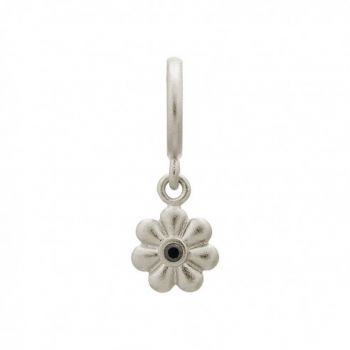 Endless Jewelry Charm Black Flower Dream Dot Silver 43302-2