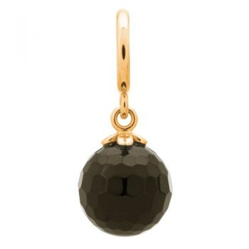 Endless Jewelry Charm Black Love Drop Gold 53451-7
