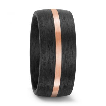 TitanFactory Partnerring Rosegold Carbon 59316